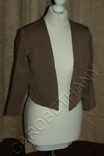 Brand New Phase Eight / 8 Salma Knit Jacket in brown Size 16 This Season