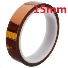 DZ933 15mm 100ft Kapton Tape BGA High Temperature Heat Resistant Polyimide Gold^
