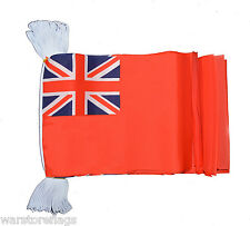 RED ENSIGN NAVY FLAG BUNTING 9 metres 30 flags ENGLAND