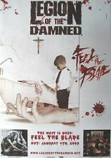 "LEGION OF THE DAMNED POSTER ""FEEL THE BLADE"""