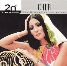 CHER - The Best of (Greatest Hits) 20th Century Masters (NEW CD, 2000, MCA)