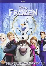 Frozen (NEW DVD, 2014) Animated, Kids, Family, Adventure NOW SHIPPING !