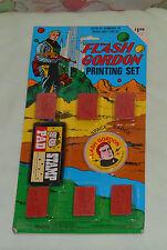 vintage mss FLASH GORDON PRINTING SET MOC rack toy