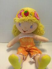 "Strawberry Shortcake Lemon Meringue Plush Doll Kelly Toy 18"" 2005"