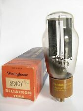 One 1955 Westinghouse 5R4GY tube - Hickok TV7D tests @ 55/54, min:40/40