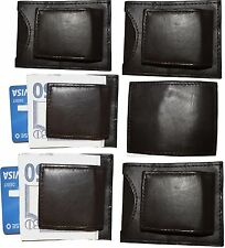 Lot of 6 New Lambskin Leather money Clip, Magnetic money clip. leather case BNWT