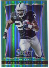 Darren McFadden 2014 Panini Father's Day Select Green Prizm /15 *P990