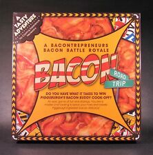 Bacon Road Trip Board Game Fun and Strategy Chef Buddy Recipe Cook-Off MINT NIB