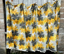 Gorgeous Pair Vintage 1950s Fabric Curtains - Mid Century - Retro