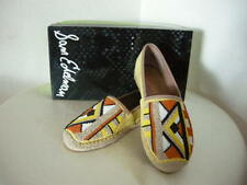 Authentic Sam Edelman Maris Beaded Espadrille Shoes Size 9