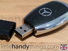Benz Car USB 8GB Flash Drive Pen/Stick Portable Storage Key Ring Gift