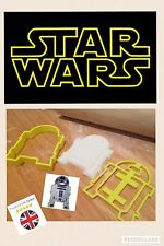 R2D2 Star Wars UK SELLER Cookie Cutter Fondant Cake Decorating Mould