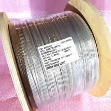 """Omega Wire 4U897 48X8/36 3/8"""" T/C Silver Plate Tubular 1000 Ft. Sealed Reel!"""