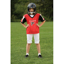 YOUTH SMALL Atlanta Falcons NFL UNIFORM SET Kid Game Day Jersey Costume Age 4-6
