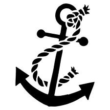 Anchor Decal Sticker Window/Car/Mirror *AVAILABLE IN 20 COLORS*