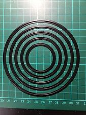 Circle Nest Cutting Die For Sizzix Spellbinders Ect.Machine