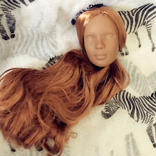 tonner doll head for ooak repaint b7 (black)