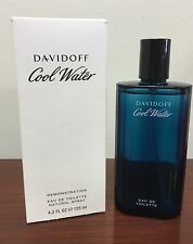 Cool Water by Davidoff Cologne for Men 4.2 oz Brand New Tester With Cap