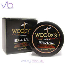 WOODY'S Quality Grooming For Men Beard Balm 2oz - Conditioner & Style Wax