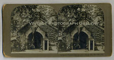 Antique Stereoview Photo President McKinleys Tomb Canton Ohio 1902