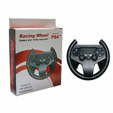 Steering Wheel Racing Joypad Grip PS4 PlayStation 4 Bluetooth Controller Game