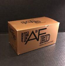 Nikon AF Nikkor 180mm f/2.8D ED lens - EMPTY BOX ONLY (NO LENS)