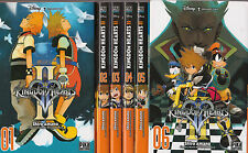 KINGDOM HEARTS saison 1 + 2 + CHAIN OF MEMORIES 1 et 2 Shiro Amano MANGA shonen