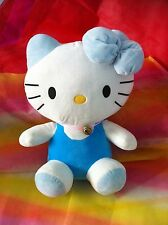 Hello Kitty Plush Soft Toy - Sky Blue