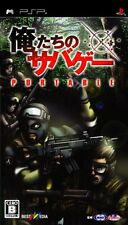 Used PSP Oretachi no Survival Game Portable  Japan Import ((Free shipping))
