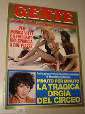 GENTE=1976/29=MONICA VITTI=RICCARDO MUTI=ANGELO COSTA=LAVAZZA=SILVIA MONTI=