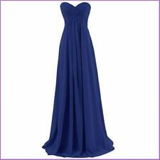 women Plus Size 2-32 Long Evening Bridesmaid Formal Cocktail Dresses Prom Gowns