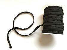 Jewellery Making Soft Habotai Silk String/Cord -5mm- Choose Colour - 50cm length