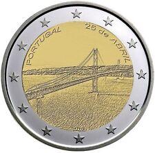Portogallo 2016  2 € commemorativo   FDC Ponte 25 Aprile prevendita