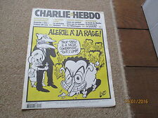 JOURNAL BD CHARLIE HEBDO 639 alerte a la rage a l ump sarkozy luz 2004