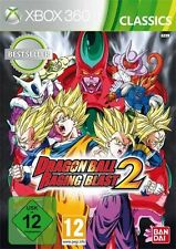 Xbox 360-Dragon Ball: Raging Blast 2 (Classics) (con embalaje original)
