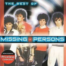 The Best Of Missing Persons (Collectables) by Missing Persons  Sealed New Wave