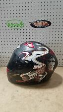 KBC Gunslinger Helmet XL Extra Large Black Red