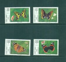Turkish Cypriot Cyprus 1995 Butterflies MNH SG 399-402