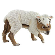 Trickster Wolf in Sheep's Clothing Disguise Hidden Character Meaning Sculpture