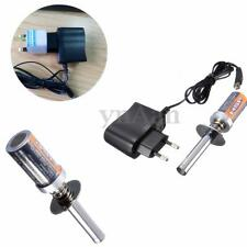 HSP RC Nitro Buggy Truck Glow Plug Engine Car Heater Igniter+Charger 1800MAH