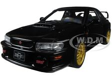SUBARU IMPREZA 22B BLACK UPGRADED VERSION LIMITED TO 1500pc 1/18 AUTOART 78604