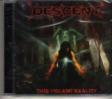 (DH331) Descent, This Violent Reality - 2007 sealed CD