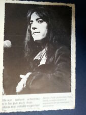 ae/ handmade greeting card with PATTI SMITH/ fathersday