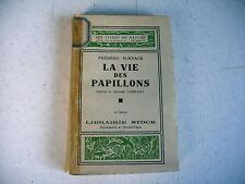 nature animaux LA VIE DES PAPILLONS frédérik Schnack 1930
