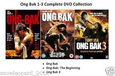 ONG BACK TRILOGY DVD PART 1 2 3 Movie Film ONGBAK BAK Brand New and Sealed UK