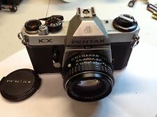 Pentax KX 35mm SLR Film Camera with 50 mm F 1.7 lens Kit
