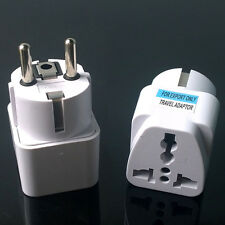 AU UK US to EU EURO AC Power Socket Plug Travel Wall Charger Adapter Converter
