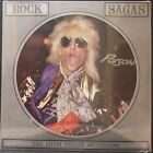 ROCK SAGAS - POISON CHRIS TETLEY INTERVIEW PICTURE DISC UK PRESSING BRAND NEW