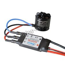 Sunnysky X2212-9 1400KV Brushless Motor + SimonK 30A ESC for Multicopter Quad-X