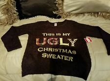 NWT - This Is My Ugly Christmas Sweater XL (12-14)